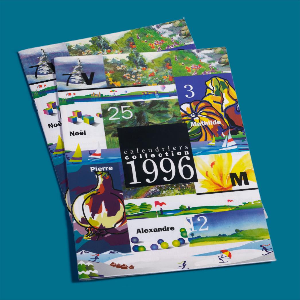 Catalogue calendriers alexandre 1996