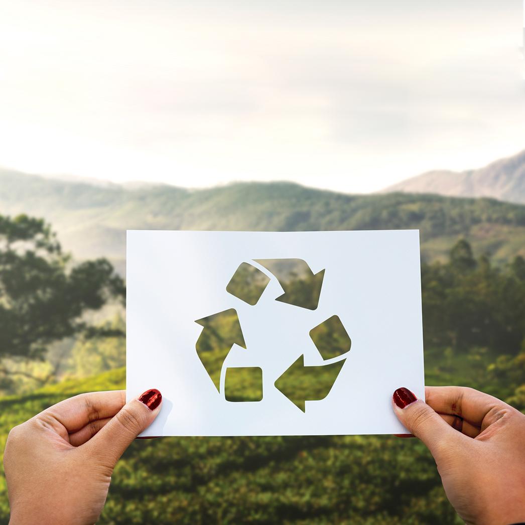 Objet publicitaire recyclable